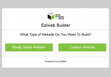 EziWeb Builder™ SOFTWARE